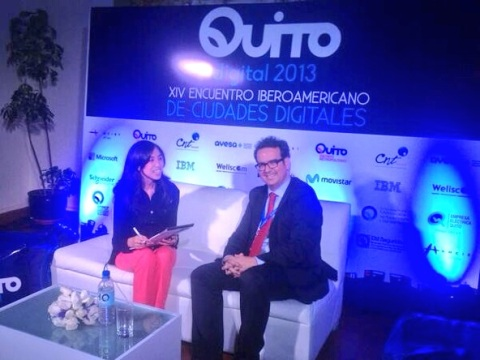 Pablo Sanchez Chillon ITW at Digital Quito September 2013