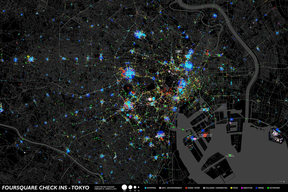 urban-visualization-four-square-check-ins-tokyo